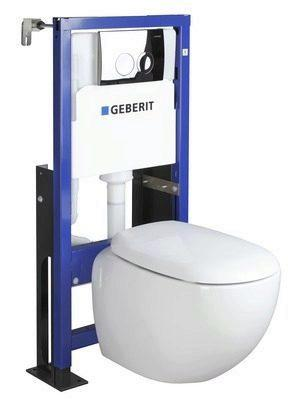 Pack WC suspendu sans bride 3-6l OSMOSE blanc 50x112cm
