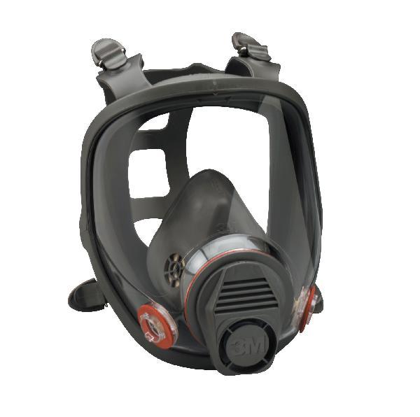 Masque antipoussières et antigaz avec visière sans filtre