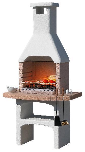 Barbecue DESERT CRYSTAL H.150cm l.82cm P.60cm