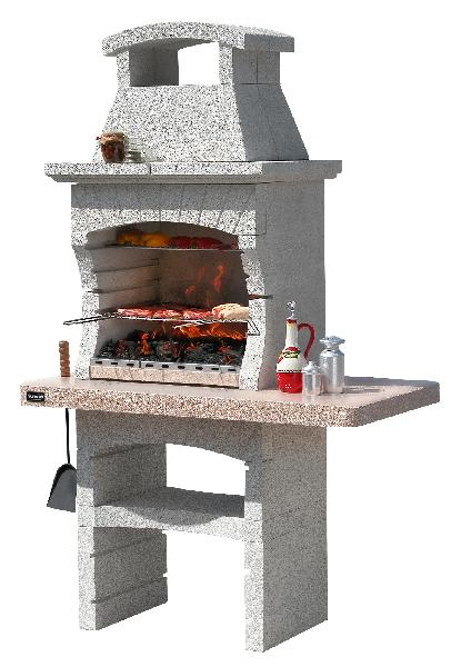 Barbecue KENYA CRYSTAL H.150cm l.82cm P.60cm