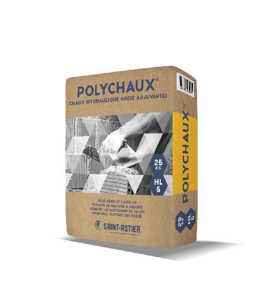 Chaux grise POLYCHAUX hydraulique formulée sac 25kg