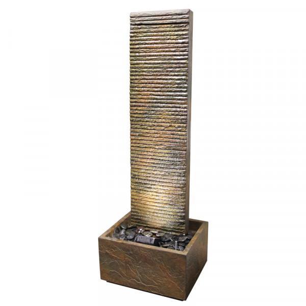 Fontaine béton fibré LAMELLES 40 H.149cm