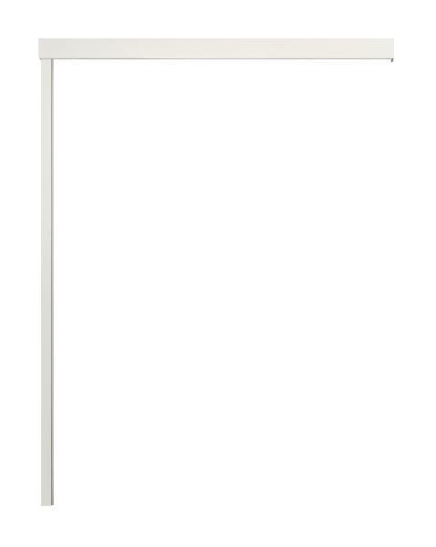 Kit xterna 210x200cm complet pour porte bois 40mm