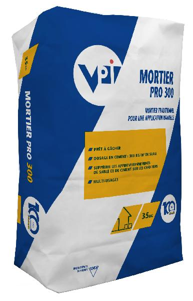 Mortier multi usages MORTIER PRO 300 Ed.100 ANS sac 35kg