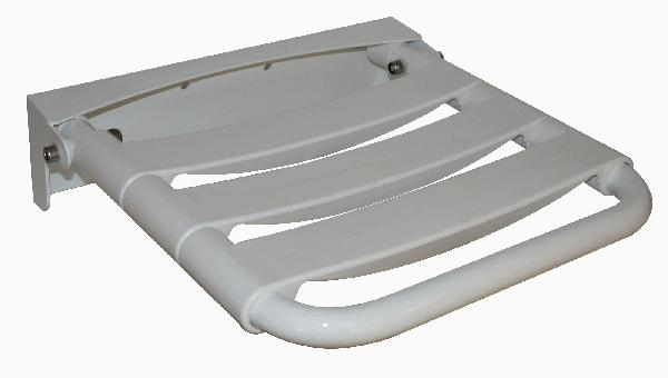 Chaise douche polypropylène blanc