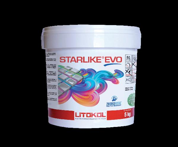 Mortier joint époxy 2 composants STARLIKE EVO grigio perla seau 5kg