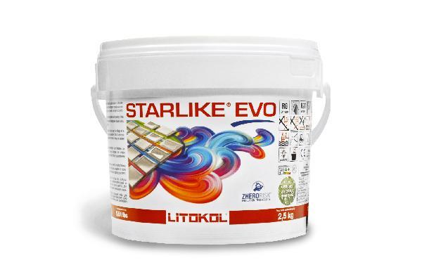 Mortier joint époxy 2 composants STARLIKE EVO greige seau 2,5kg