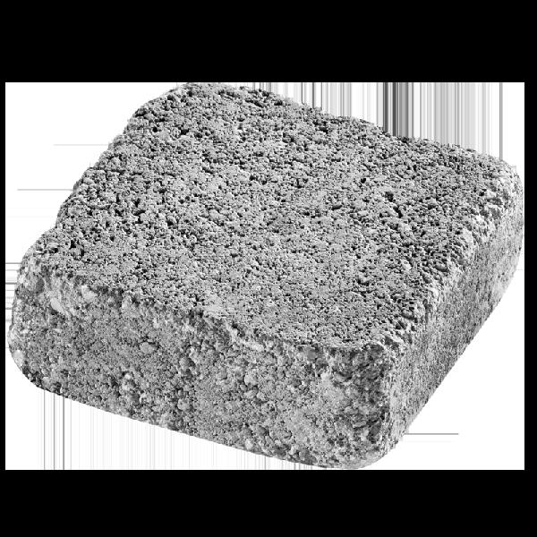 Pavé MEDIEVAL vieilli 16x16cm Ep.6cm gris nuancé palette 9,83 m²