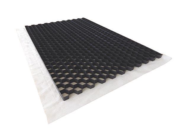 Plaque de stabilisation NIDAGRAVEL 129 120x80cm Ep.2,9cm Noir