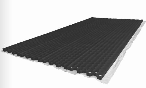 Plaque de stabilisation NIDAGRAVEL 140 240x120cm Ep.4cm 400T/m² Noir