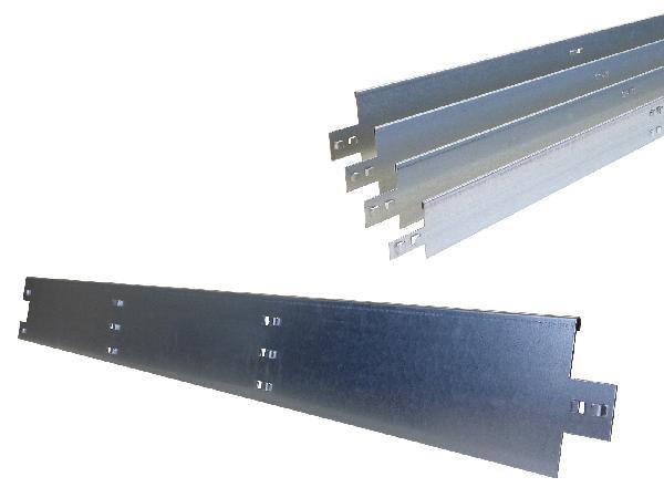 Bordure plane acier galva NIDABORDER 150mm 1900 150mm