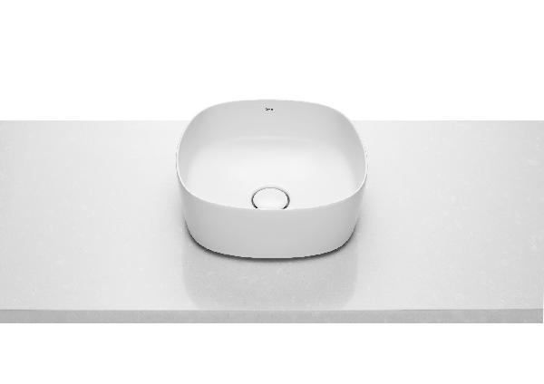 Vasque INSPIRA SOFT blanc 37x37x14cm