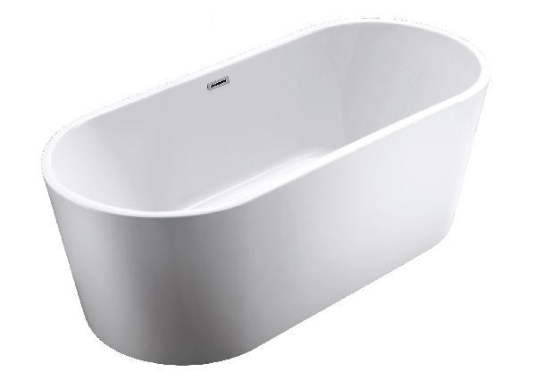 Baignoire JURA blanc 170x75cm