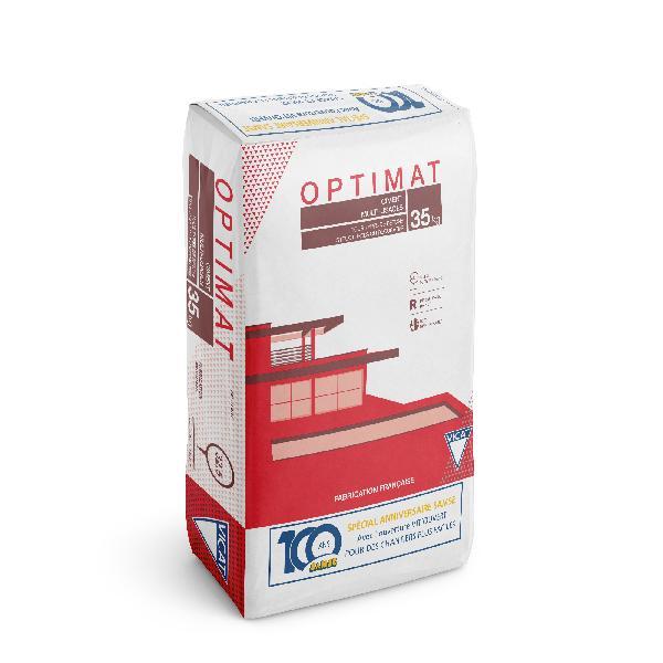 Ciment OPTIMAT 100 ANS gris CEM II/B-LL 32,5 R CE+NF sac 35kg