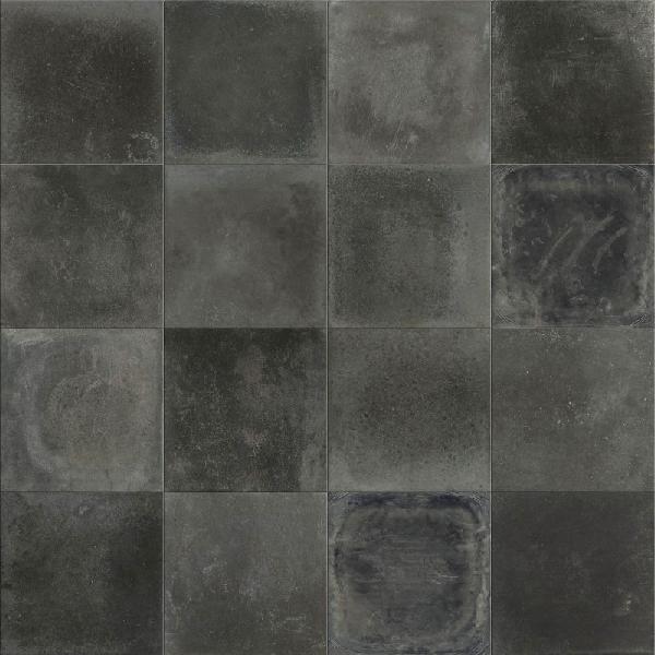 carrelage décor PLAY heritage dark 20x20cm Ep.8,5mm