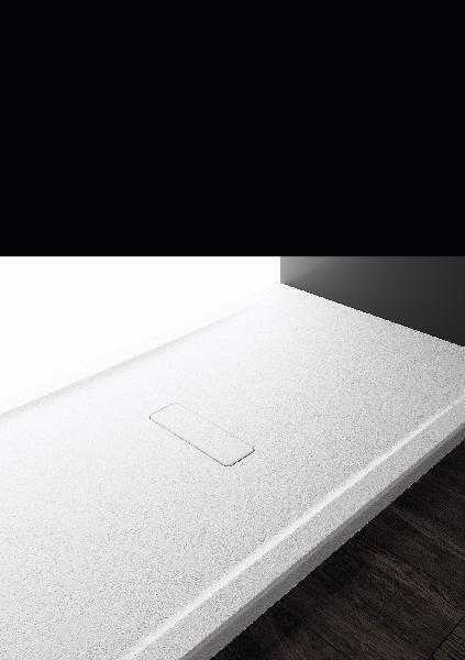Receveur CUSTOM TOUCH blanc acrylique 120cm 3,4