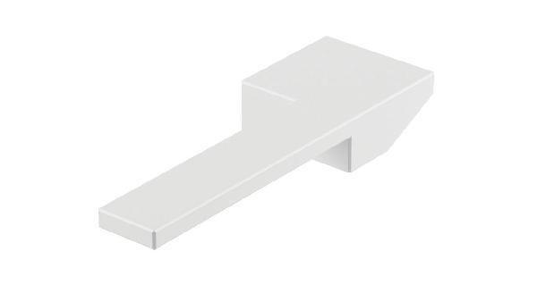 Poignée lavabo/bidet COLOR CUBE blanc brillant