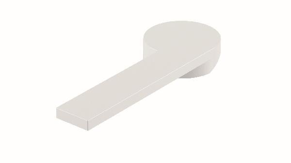 Poignée lavabo/bidet COLOR blanc brillant