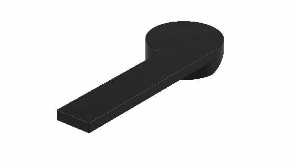 Poignée lavabo/bidet COLOR noir brillant