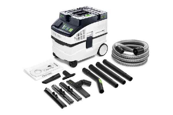 Aspirateur eau et poussières PP CLEANTEC CT 15E-SET 15L 1200W