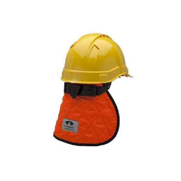 Protège nuque polyester rafraichissante CNS140 orange de protection