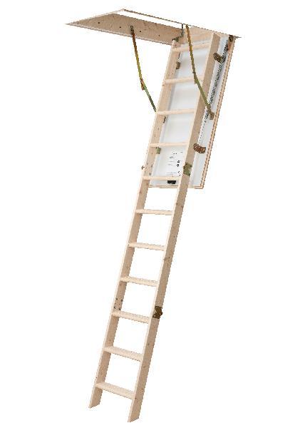 Escalier escamotable ECOWOOD 140x70x280