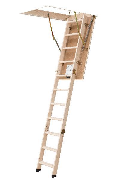 Escalier escamotable ECOKIT 120x60x280