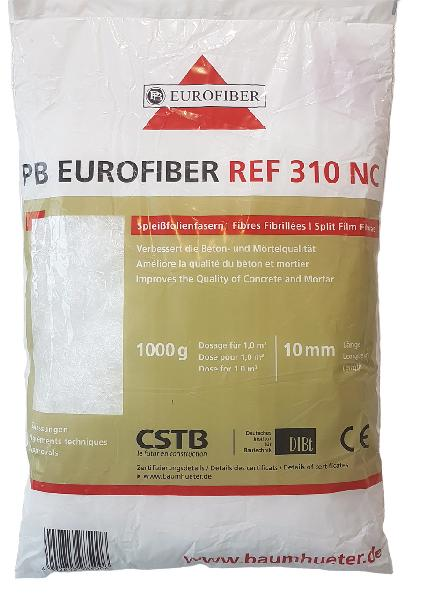 Fibre polypropylène pour chapes 310 NC sac 1kg