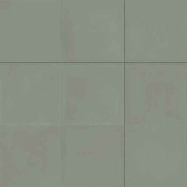 Carrelage CONTRASTI celadon 20x20cm Ep.10mm