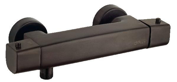 Mitigeur douche thermostatique PVD noir