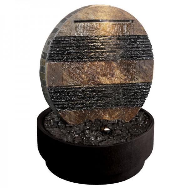 Fontaine béton fibré RONDO 13 x65cm H.66cm bicouleurs