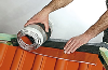 Closoir de faîtage souple ventilé FIGAROLL+ 28/32mmx5m ardoise