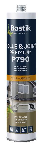 Mastic colle P790 PU gris cartouche 300ml