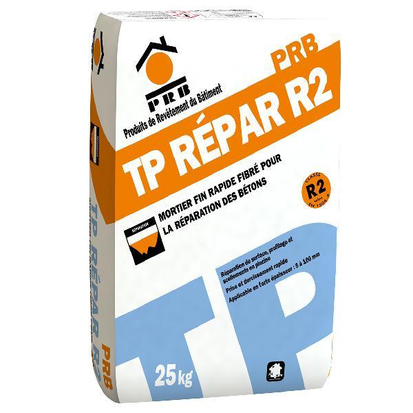 Mortier réparation TP Répar R2 Gris fibré sac 25kg