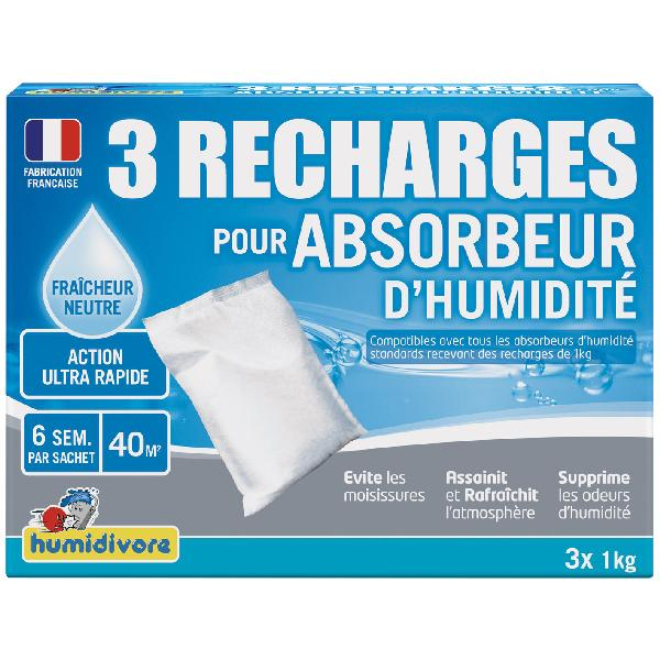 Recharge absorbeur 1kg lot 3