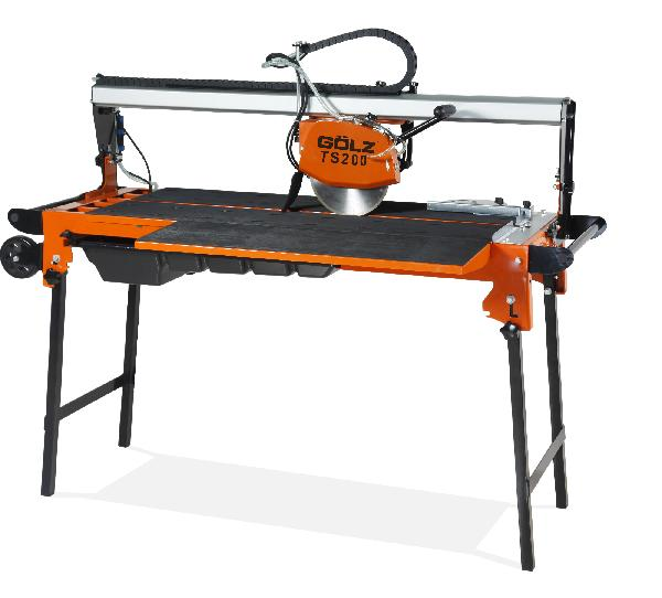 Scie sur table pour carreleur électrique TS200 1,3W 230V pompe à eau