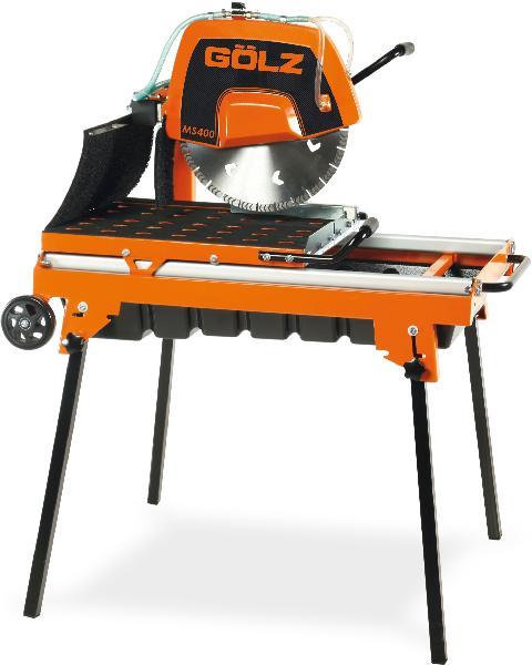 Scie sur table pour maçon électrique MS400 2,2W 230V pompe à eau