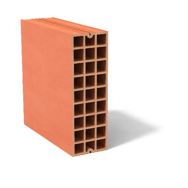 Brique terre cuite CARROBRIC 45x45x14.8cm