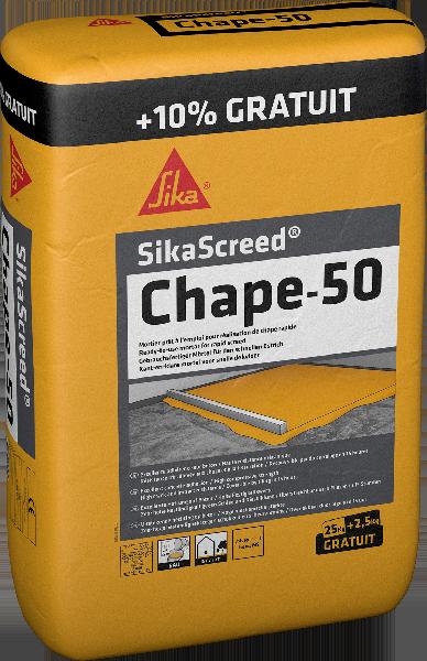 Mortier chape SIKASCREED CHAPE-50 sac 25Kg +10%