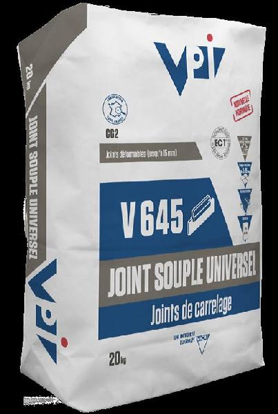 Mortier joint V645 CERAJOINT SOUPLE graphite sac 20kg