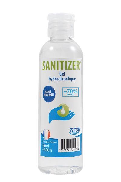 Gel hydroalcoolique SANITIZER 0,100L