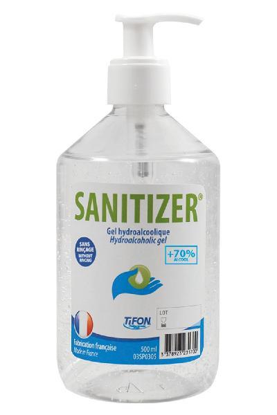 Gel hydroalcoolique SANITIZER 0,500L