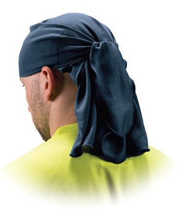Bandana PVA rafraichissante PY0CSKT2 Bleu de protection pour visage
