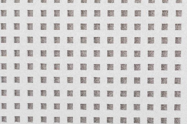 Plaque  plâtre DELTA UFF 12/25Q VOILE NOIR 13mm 120x200cm
