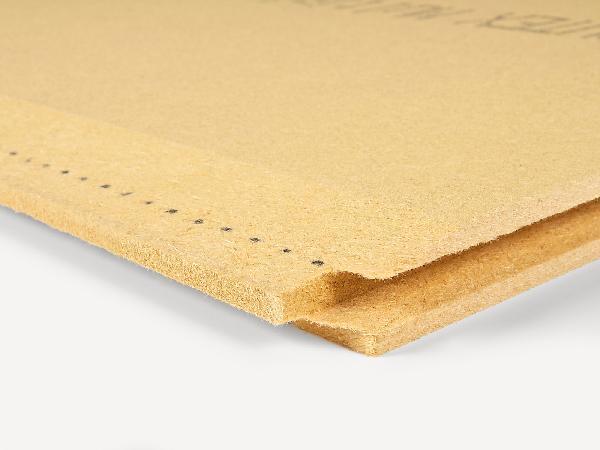 Panneau fibre de bois MULTIPLEX TOP 35mm 250x75cm R=0,70
