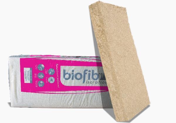 Laine coton/chanvre/lin BIOFIB TRIO 80mm 125x60cm paquet 8