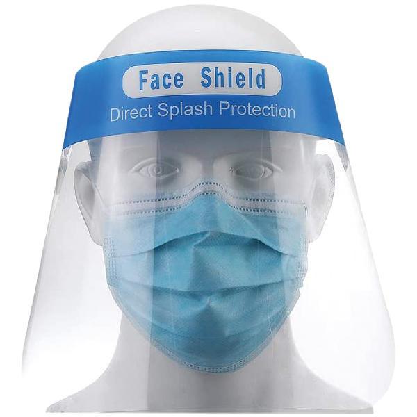 Masque avec cordon élastique plexiglas