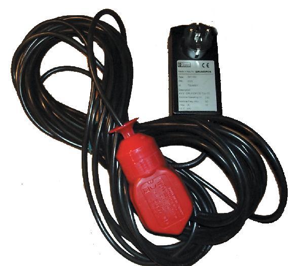 Coffret alarme visuelle et sonore pour pompe et station de relevage