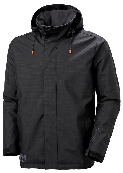 Veste à capuche OXFORD noir T.L
