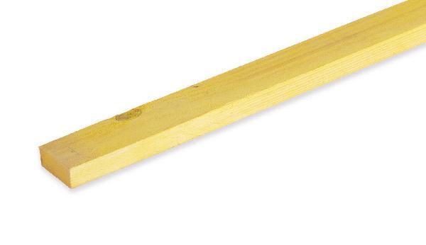 Liteau sapin/épicéa traité classe 2 20x60mm 4,00m